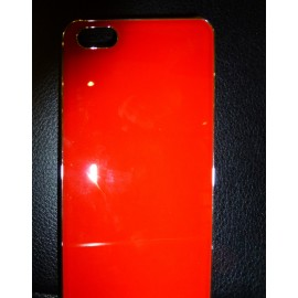 Coque iPhone 5 Rouge Brillant