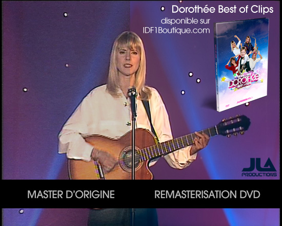 Comparatif Master - Remasterisation DVD - Dorothée Best Of Clips